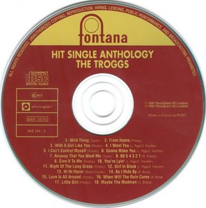 The Troggs  – Hit Single Anthology (1991)