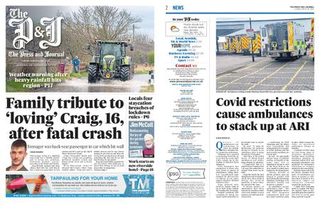 The Press and Journal Moray – March 30, 2021