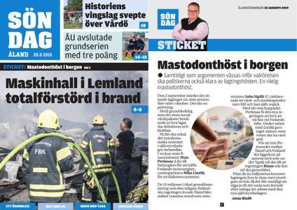 Ålandstidningen – 25 augusti 2019