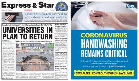 Express and Star Staffordshire Edition – May 25, 2020