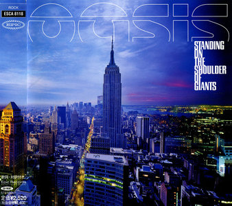 Oasis - Standing On The Shoulder Of Giants (2000) Japanese Press