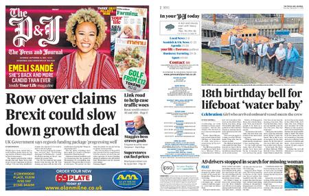 The Press and Journal Moray – September 14, 2019