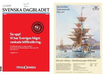 Svenska Dagbladet – 27 april 2019
