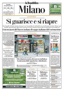 la Repubblica Milano - 28 Febbraio 2020