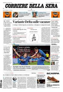 Corriere della Sera - 27 Giugno 2021