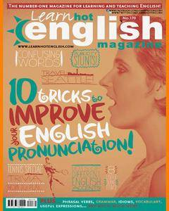 Hot English Magazine • Number 170 • Audio Edition • Issue 07/2016