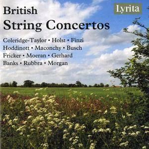 VA - British String Concertos (2014) 4CD Box Set