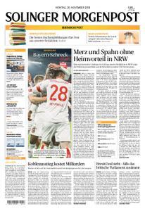 Solinger Morgenpost – 26. November 2018