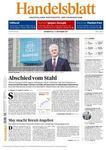 Handelsblatt - 21. September 2017