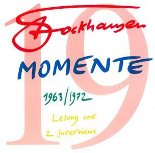 Karlheinz Stockhausen - Text-CD 19 - Momente 1963 (2008) {Stockhausen-Verlag}