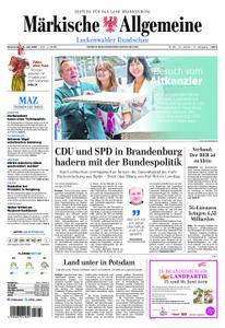 Märkische Allgemeine Luckenwalder Rundschau - 13. Juni 2019