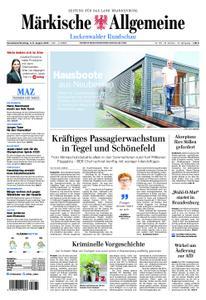 Märkische Allgemeine Luckenwalder Rundschau - 03. August 2019