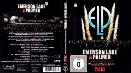 Emerson Lake & Palmer - 40th Anniversary Reunion Concert 2010 (2011)