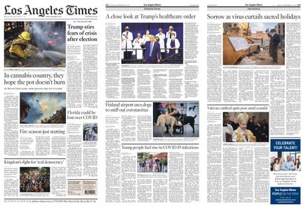 Los Angeles Times – September 25, 2020