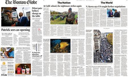 The Boston Globe – November 15, 2019