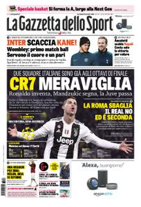 La Gazzetta dello Sport Roma – 28 novembre 2018