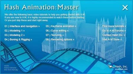 Hash Animation Master 19.0h + Portable