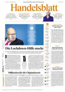 Handelsblatt - 2 Dezember 2020