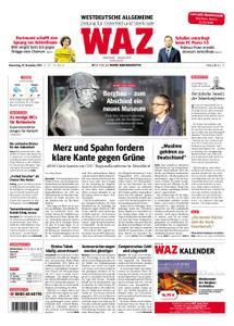 WAZ Westdeutsche Allgemeine Zeitung Oberhausen-Sterkrade - 29. November 2018