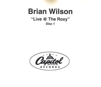 Brian Wilson - Live At The Roxy (2001) {2CD PROMO, Capitol Records}