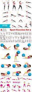 Vectors - Sport Exercises Set 5