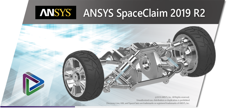 ANSYS SpaceClaim + DesignSpark Mechanical 2019 R2 SP0 Multilingual
