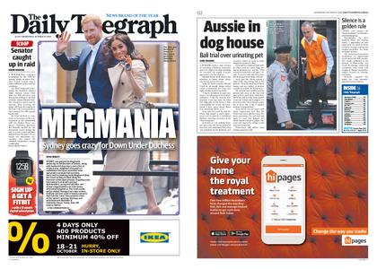 The Daily Telegraph (Sydney) – October 17, 2018