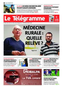 Le Télégramme Quimper – 10 mars 2021