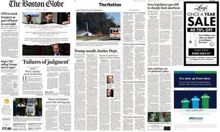 The Boston Globe – May 03, 2018