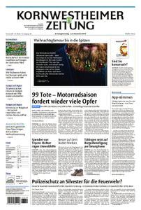 Kornwestheimer Zeitung - 01. Dezember 2018