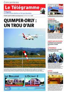 Le Télégramme Concarneau – 31 août 2019