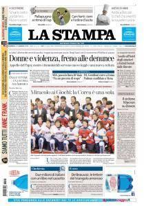 La Stampa Imperia e Sanremo - 21 Gennaio 2018