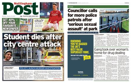 Nottingham Post – January 20, 2020