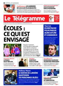 Le Télégramme Guingamp – 22 avril 2020
