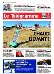 Le Télégramme Auray – 30 juillet 2020
