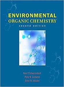 Environmental Organic Chemistry (Repost)
