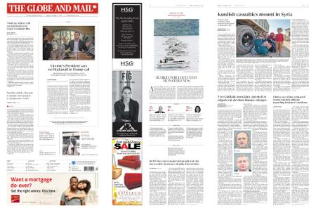 The Globe and Mail – October 11, 2019