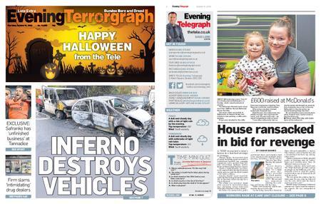 Evening Telegraph First Edition – October 31, 2019