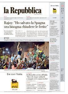 la Repubblica - 22 Novembre 2017