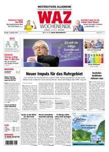 WAZ Westdeutsche Allgemeine Zeitung Oberhausen-Sterkrade - 01. September 2018