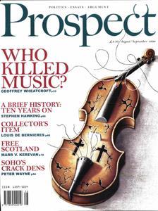 Prospect Magazine - August - September 1998