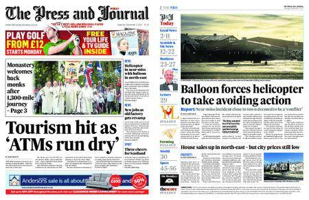 The Press and Journal Moray – September 02, 2017