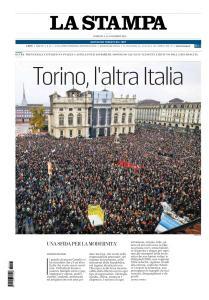 La Stampa Torino Provincia e Canavese - 11 Novembre 2018