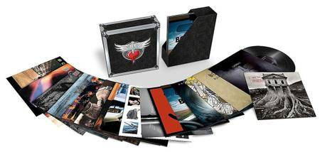 Bon Jovi - The Albums (2017) [Vinyl Rip 16/44 & mp3-320, Limited Edition Box set] Re-up