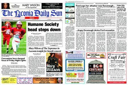 The Laconia Daily Sun – September 28, 2018