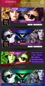 GraphicRiver Royalface - Facebook Timeline Cover