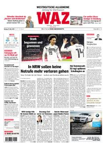 WAZ Westdeutsche Allgemeine Zeitung Oberhausen-Sterkrade - 25. März 2019