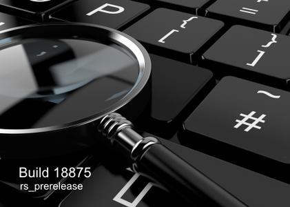 Windows 10 Insider Preview version 1903 build 18875.1000 (20H1)