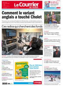Le Courrier de l'Ouest Angers – 13 janvier 2021