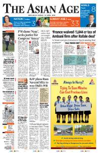 The Asian Age - April 14, 2019